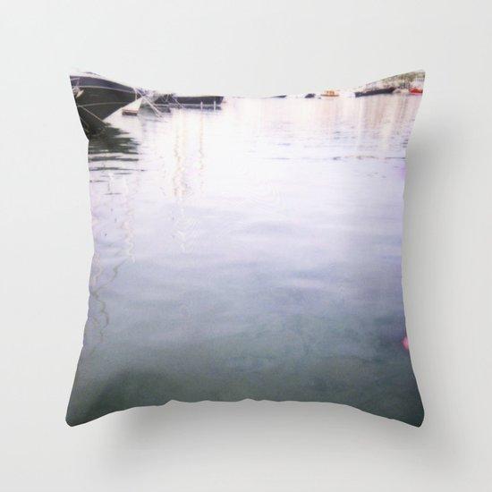 Palma Harbour Throw Pillow