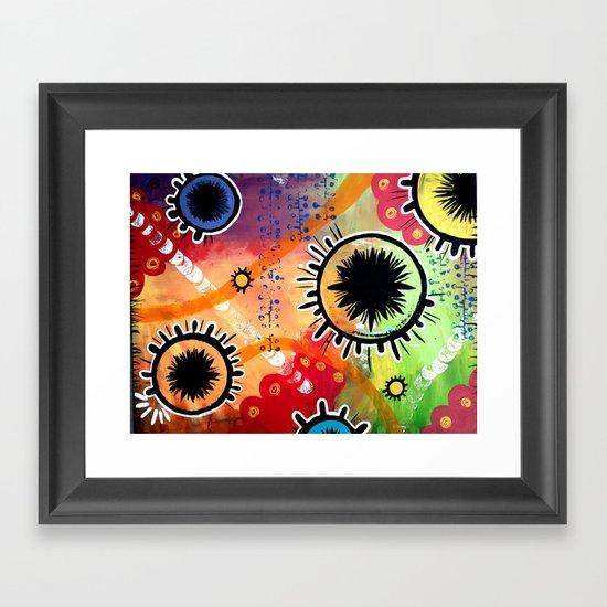 Bohemian Cells I Framed Art Print