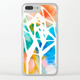 Empty nest in Spring Clear iPhone Case