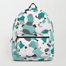 Circle-fiesta bluegreen-white Backpack