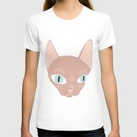 sphynx T-shirts featuring Sphynx by Shaye Display Illustrations