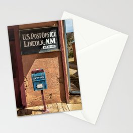 Post Office Lincoln NM Stationery Cards