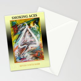 SMOKING ACES Stationery Cards