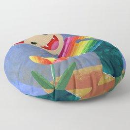 happiness spores Floor Pillow