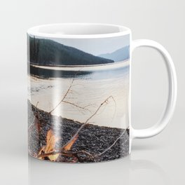 Fox Lake Campfire Coffee Mug