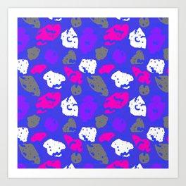Color bright spot 1 Art Print
