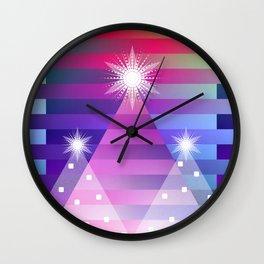 Christmas Trio Wall Clock