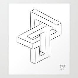 unbegrenzte formen Art Print