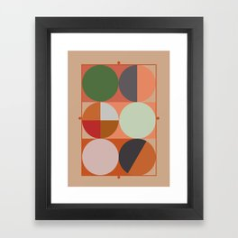 'Joy'metric /Joy Framed Art Print