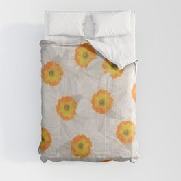 daffodils pattern design Comforters