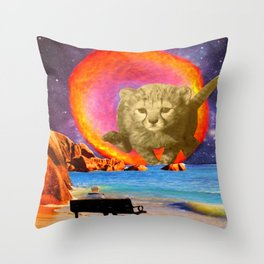 Self Preservation Throw Pillow