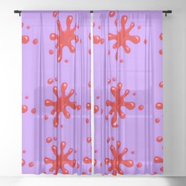 New 371 Sheer Curtain