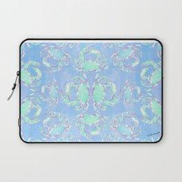 Watercolor blue crab Laptop Sleeve