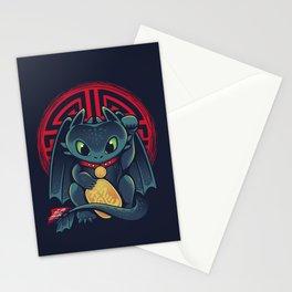 Maneki Dragon Stationery Cards