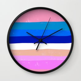 Stripes Galore 1 Wall Clock
