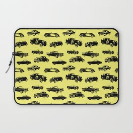 Classic Cars // Yellow Laptop Sleeve