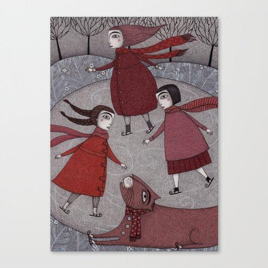 Winter Days Canvas Print