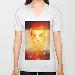 The Girl UnWound Unisex V-Neck
