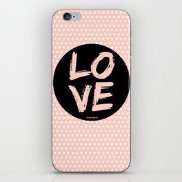 Love...mistakes iPhone Skin