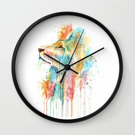 Lion - Aslan Wall Clock