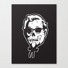 Skull Sanders Canvas Print