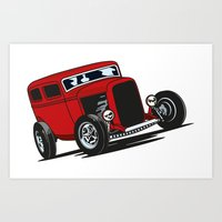 32 Ford Sedan Art Print