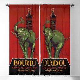 Leonetto Cappiello Bourdou Advertising Poster Blackout Curtain