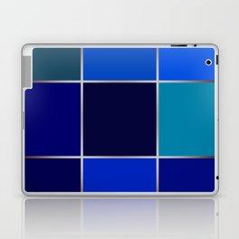 Cobalt , patchwork Laptop & iPad Skin