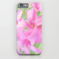 Coral Pink Petals iPhone 6s Slim Case