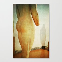 Ancient Greek Art Naked Statue Erotic Photography LGBT Canvas Print