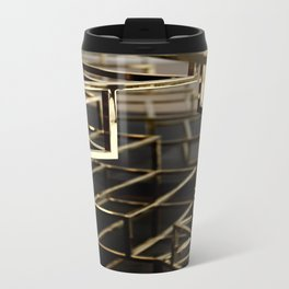 Shanghai Gold Metal Travel Mug