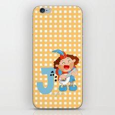 j for jongleur iPhone & iPod Skin