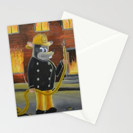 The Fire Rat Stationery Cards