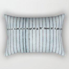 Where the light emerges Rectangular Pillow