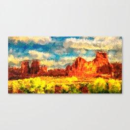 Arizona Spring Canvas Print
