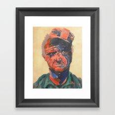 Miner#1 Framed Art Print