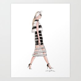 Couture  Art Print