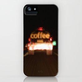 C - Coffee Tanker iPhone Case