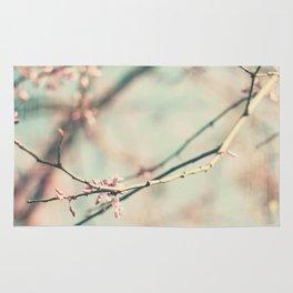 spring #2 (pink&bleu) Rug