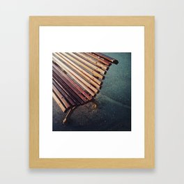 Banco Framed Art Print