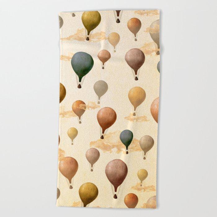 Voyagers Pattern Beach Towel