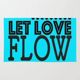 Let love flow Rug