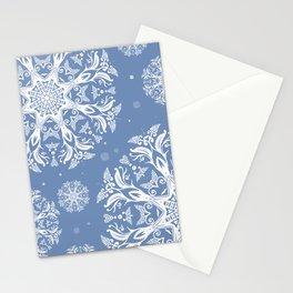 winter pattern Stationery Cards