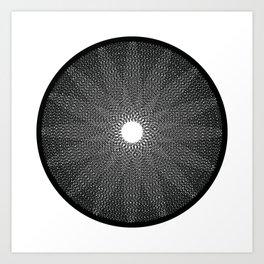 photoscript 001 Art Print