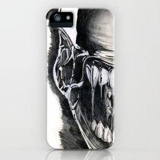 Alien Face. Slim Case iPhone (5, 5s)