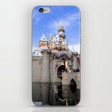 Sleeping Beauty's Holiday Castle iPhone & iPod Skin