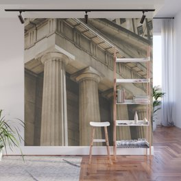 Federal Hall, New York photography, architecture, building, Hasselblad, Fine art Wall Mural
