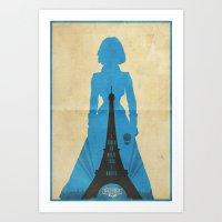 bioshock infinite Art Prints featuring Elizabeth -Bioshock: Infinite Poster by Edward J. Moran II