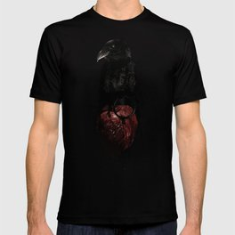 Raven and Heart Grenade T-shirt