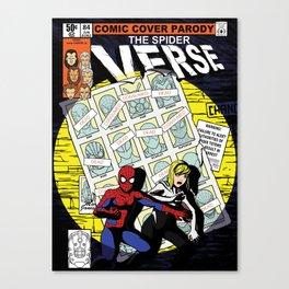 Days of Spider Verse Canvas Print